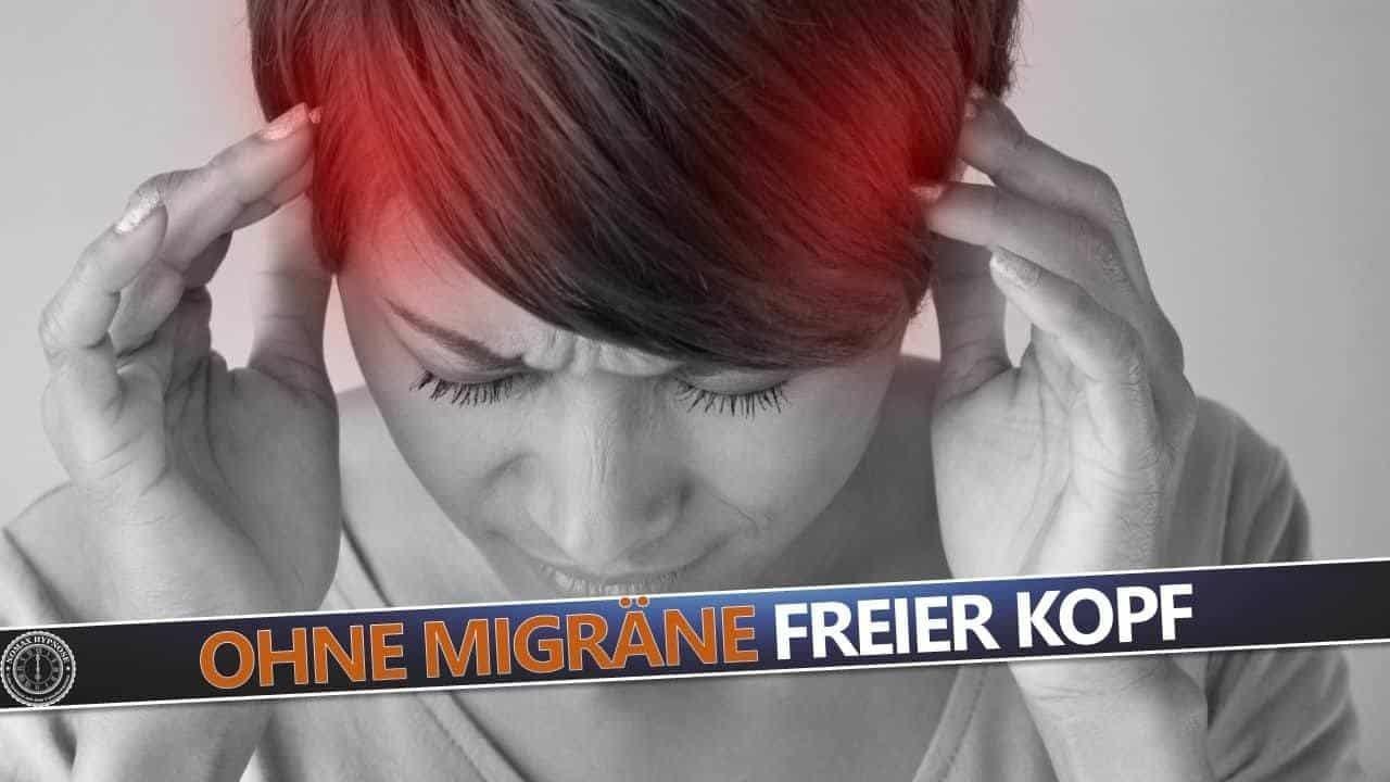 Dank Hypnose keine Migräne und keine starken Kopfschmerzen