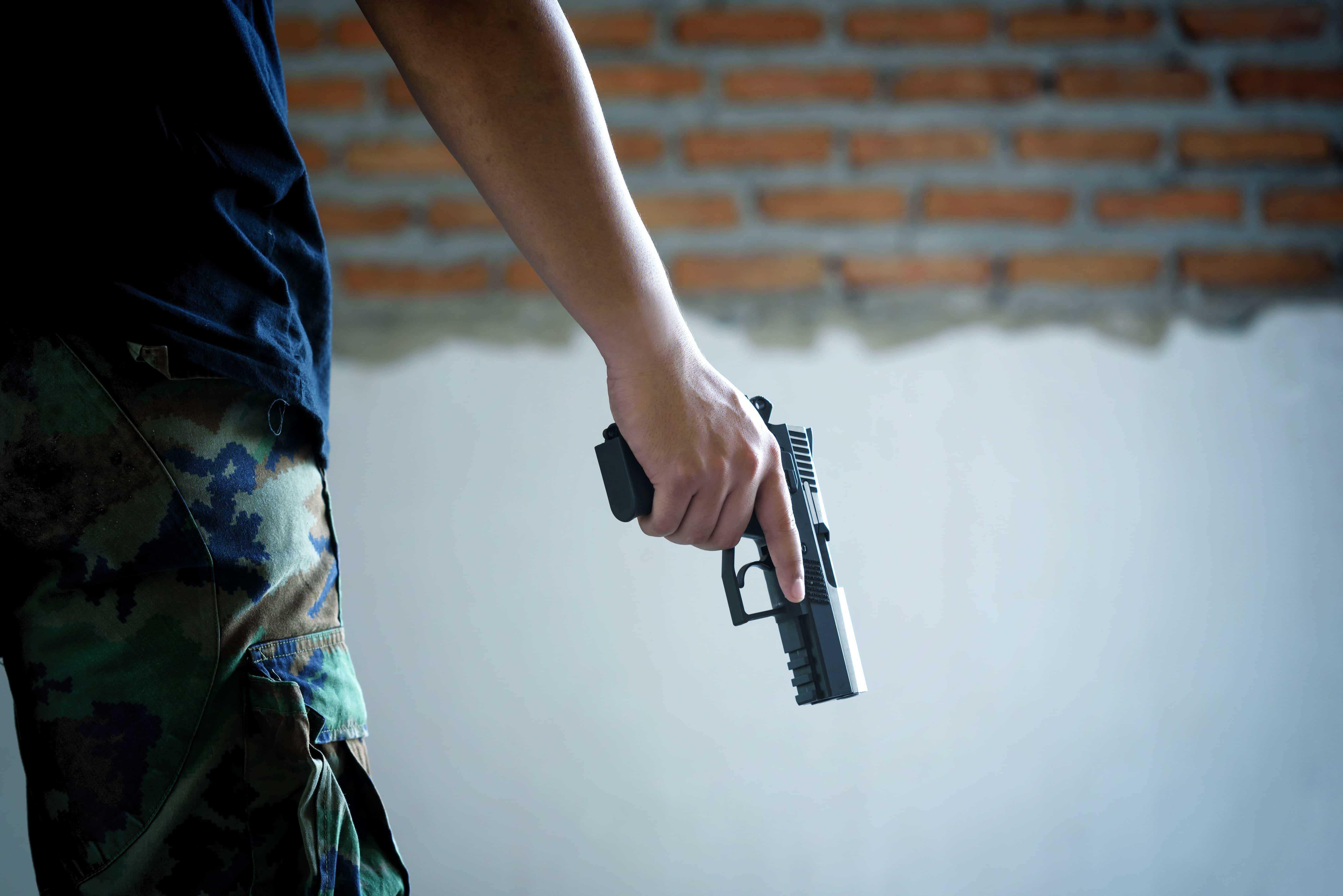 Die Angst vor Waffen ist nicht unbegründet
